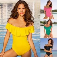 Wholesale sexy jumpsuits xxl resale online – Bikinis Set Beachwear Monokini Push Up Padded Jumpsuits Woman Swimsuit Swimwear Lady Femme Strapless Summer Bathing Sexy jl V