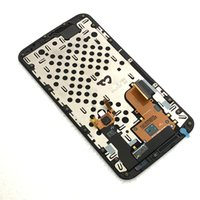 Wholesale nexus display frame resale online - LCD Screen Display Assembly For Motorola Nexus X XT1100 XT1103 with Frame Replacement Black