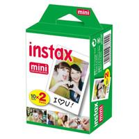 Wholesale Instax Films Fuji - 2018 New Arrive Fujifilm Instax Mini 8 film for Fuji Instax Mini 7s 8 9 70 Instant Photo Camera Share SP-1 SP-2 White Film