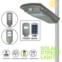 Wholesale industrial solar - 20LED 20 40 60W Solar Radar Sensor Light Control Wall Street Light Outdoor Wall Lamp Security Spot Lighting Waterproof