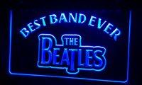 ingrosso best band ever-LS253-b Best Band Ever The Beatles Luce al neon Iscriviti Decor Dropshipping Wholesale 6 colori da scegliere