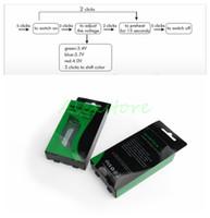 Wholesale Mini Vv Mod - Mystica VV Vaporizer Starter V V Vape Pen Kit Pre-Heating with G2 Oil BUD Tank Cartridges 650mAh Battery Mini Box Mod Bin