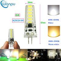 Wholesale 24v bulb energy saving resale online - G4 led lights SMD5730 AC DC12V V W Mini Led Bulbs Energy Saving Candle Lights Chandelier Light source