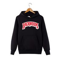 hoodie do pulôver do desenhista venda por atacado-Outono inverno Backwoods Hoodie Preto Branco Cinza Hoodie Backwoods Manga Comprida Hip Hop Designer Moletons Tamanho S-4XL