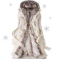 chaqueta térmica delgada al por mayor-Nuevo Otoño Invierno Mujeres Abrigos de Algodón Medio Largo Wadded Slim Jacket Thermal Warm Parkas Casual Edredón Abrigo