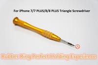 üçgen tornavidalar toptan satış-Y Stil 0.7mm Üçgen Tornavida iPhone aracı iPhone için Tamir Araçları Kiti 7 7 artı 8 8 artı Ücretsiz Kargo