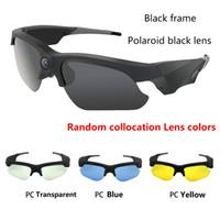 novos óculos de câmera de vídeo venda por atacado-2017 NOVA Óculos de Sol  Mini 8cb2a67971