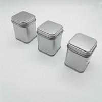caixa de doces tradicional chinesa venda por atacado-50g Latas De Metal Latas De Armazenamento De Metal Frascos De Metal Latas De Chá Caddy Mini Doces pequenos selados caixas de viagem portátil caixa de Chá F20173085