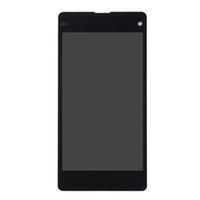 ingrosso sostituzione z1-Per SONY Xperia Z1 Compact LCD Display Touch Screen Digitizer Assembly di ricambio M51w D5503 per SONY Z1 Mini LCD