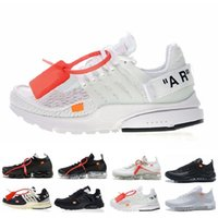 cheap for discount 5972b ccce1 Nike off white 2018 97 New Off Vapormax Zoom Fly Presto Huarache Uomo Donna  Bianco Nero Marca Luxury Designer Sneakers Sport Scarpe da corsa Taglia  5.5-11