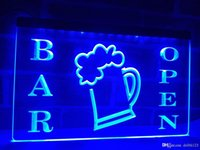 neon bardaklar toptan satış-LN039b-Bar Açık Bira Bardağı Neon Işık Burcu
