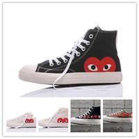 best service 59b1e dc72b Boîte d origine Pour Hommes Femmes Chaussures de Course Bas Haut Haut Skate  Big Eye chaussures Mode Casual chaussures size36-44