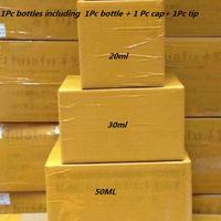 прозрачные бутылки с маслом оптовых-1000шт ПЭТ бутылка для масла 30мл 50мл 60мл 100мл 120мл Пластиковые флаконы для масла Vape Dropper Vape Черные или прозрачные с защитными от вскрытия крышками от детей