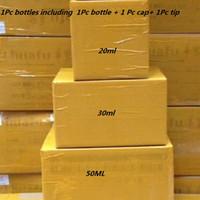ingrosso tappi in plastica nera-Bottiglia di olio 1000Pcs PET 30 ml 50ml 60ml 100ml 120ml Bottiglie di plastica contagocce Vape olio nero o trasparente con protezioni anti-manomissione