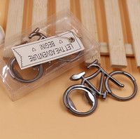 Wholesale bicycle collection for sale - Group buy Bicycle Bottle Opener Beer Metal Shaped Bike Fashionable Cute Bicycle Creative Wedding Party Gift Present collection SN858