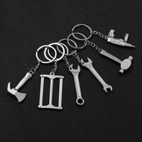 Wholesale wrench key rings for sale - Group buy 1 New Mini Creative Wrench Spanner Key Chain Tool Car Key ring Keychain