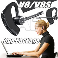 universal-ohrhörer großhandel-V8S Ohrhörer Kopfhörer Drahtlose Kopfhörer Freisprecheinrichtung Kopfhörer Headsets 4.0 Legend Stereo V8 Handy Für Iphone XS MAX XR