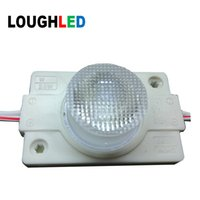 Wholesale double side led light box - SMD3030 2W Injection LED Module DC12V IP65 with Lens 45*15 for Double Sides Lighting Box White Red Green Blue Yellow