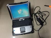 alldata auto reparatur großhandel-Bester Preis alldata Auto-Reparatur alle Daten 10.53 und Mitchell 2in1 mit HDD 1tb in Laptop Toughbook cf19 Touchscreen installiert