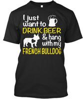 elbise içki toptan satış-Benim Bira Bulmak Ile Bira Asmak Sadece I Want To Ve Stylisches T-Shirt T Shirt Casual Marka Giyim Pamuk