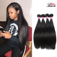 Wholesale Cheap Brazilian Straight - Wholesale 8A Mink Brazilian straight Hair Unprocessed Brazilian Human Hair Bundles Weave Weft Cheap Brazilian Virgin Straight Hair Extension