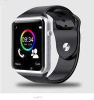 цена мобильного телефона оптовых-2018 Новый 9 цвет A1 наручные часы Bluetooth смарт часы Спорт шагомер с SIM-камеры Smartwatch для Android смартфон