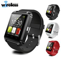 Wholesale iphone 4s phone white - Bluetooth Smartwatch U8 U Watch Smart Watch Wrist Watches for iPhone 4 4S 5 5S Samsung s7 HTC Android Phone Smartphone