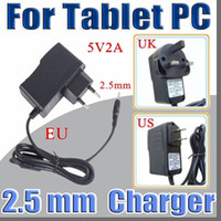 Wholesale tablet a31s for sale - Group buy 5V A DC mm Plug Converter Wall Charger Power Supply Adapter for A13 A23 A33 A31S A64 inch Tablet PC EU US UK plug A PD