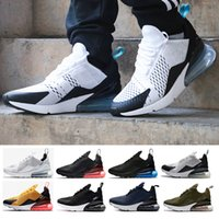Wholesale Media Photos - 2018 new Teal quality Mens Flair Triple 270 AH8050 Photo Blue Trainer Sports Running Shoes Womens sole 270 Sneakers 36-45