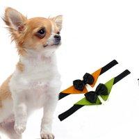 bow fashion necklace venda por atacado-Cavalheiro Moda Dog Bow Ties Borboleta Pet Neckwear Decore Cães Ajustáveis Cat Acessório Colar Venda Quente 5dr Y