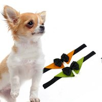 ingrosso cani farfalla-Moda Gentleman Dog Bow Ties Pet Butterfly Neckwear Decorare Cani Regolabili Cat Accessorio Collana Vendita calda 5dr Y
