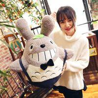 Wholesale plush pillow totoro - 20161102 Cute Totoro Pillows In Hayao Miyazaki Cartoon For Girls And Children Birthday Or Chirsmas Gifts