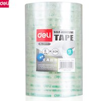 Wholesale deli supplies for sale - Deli Transparent Clear Washi Type Rolls mm m WxL Strong Sticky Office Adhesive Tape Stationery Office School Supplies
