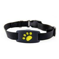 ingrosso collare del cane di caricamento del usb-Z8 Pet GPS Tracker Dog Cat Collar Water-Resistant Funzione di richiamata GPS Ricaricatori GPS di ricarica USB per cani universali