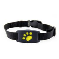 köpek izci yaka toptan satış-Z8 Pet GPS Tracker Köpek Kedi Yaka Suya Dayanıklı GPS Geri Çağırma Fonksiyonu USB Şarj Evrensel Izci Için GPS Izci