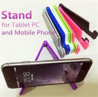 регулируемая опорная таблетка оптовых-V-образный универсальный складной мобильный сотовый телефон подставка для смартфона планшет Samsung регулируемый держатель телефона поддержки