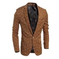 Wholesale Men Boys Slim Fit Suits - Blazer Men 2016 Autumn New Men's Classic Plaid Slim Fit Casual Pure Cotton Suit Brand Clothing Boy Business Blazer High Quality