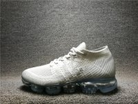 Wholesale multiple light - Unisex 2018 New Fashion Sport Running Shoes Outdoor Leisure Sneakers-Breathable Knitted net surface With Box Multiple colors and All Size