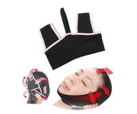 маскирующий снотворный оптовых-3D V-Line лицо щеки подбородок поднимите похудения тонкий сна Маска ремень ремешок Бесплатная доставка