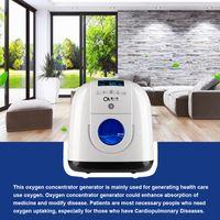 Wholesale Portable Oxygen Generators - Health Care Portable Oxygen Concentrator PSA Oxygen Generator Home Medical Oxygen Device Air Purification Machines 1-5L