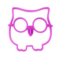 Wholesale Owl Silicone Mold - Household Silica Gel Eggs Ring Purple Anti Wear Omelette Mould Owl Shape Silicone Fry Egg Mold Hot Sale 2 8bha B