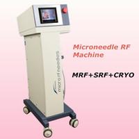 tratamentos faciais microcorrentes venda por atacado-Miconeedle lifting facial micro derma tratamento da pele pele aperto microcorrente Rugas remoção da pele rejuvenescimento PDT 650nm