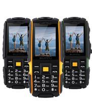 ingrosso doppi telefoni della carta sim con acqua impermeabile-Alta qualità Originale X6000 IP67 Impermeabile Antiurto Cellulare Antipolvere Rugged Outdoor Cell Phone Dual SIM card Cellulari Bluetooth