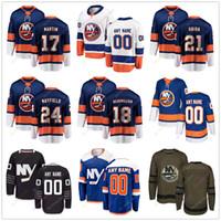 c8cb26d2d Matt Martin Anthony Beauvillier Luca Sbisa Scott Mayfield Jersey 2019 Men  Women Youth Kid Winter Classic New York Islanders C A Patch Salute
