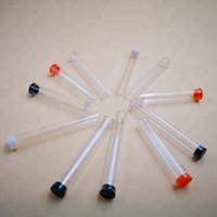 caneta pvc venda por atacado-Transparente vaporizador vape cartucho de embalagem tubo de tubo de plástico transparente vape caneta para 0.5 ML e 1 ML cartucho PP ou PVC material