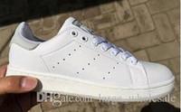 chaussures de course les moins chères achat en gros de-Prix bas femmes hommes nouvelle chaussures stan chaussures de sport smith chaussures de sport en cuir casual