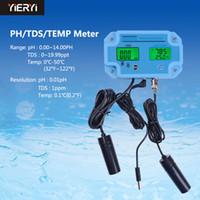 Wholesale multi ph meter for sale - Group buy Yieryi PH Digital Ph Tester Temperature Tds In Multi parameter Water Quality Analyzer Water Meter Tester Tool