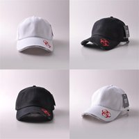 New Fashion White Black Men Letter Embroidery Baseball Cap Sun Shading  Adjustable Buckle Hats Outdoor Sports Hip Hop Snapback 8hr aa 152772e65139
