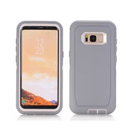 Wholesale goophone s7 edge plus for sale – best 2018 Premium quality for samsung galaxy s7 edge case shockproof phone case TPU PC hydrid in1 for Goophone S9 plus robot case