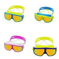 équipement de natation pour enfants achat en gros de-Imperméable à l'eau anti brouillard lunettes de natation spécial enfant équipement de sports nautiques homme et femmes concepteur de sports nautiques accessoires 23bh ww